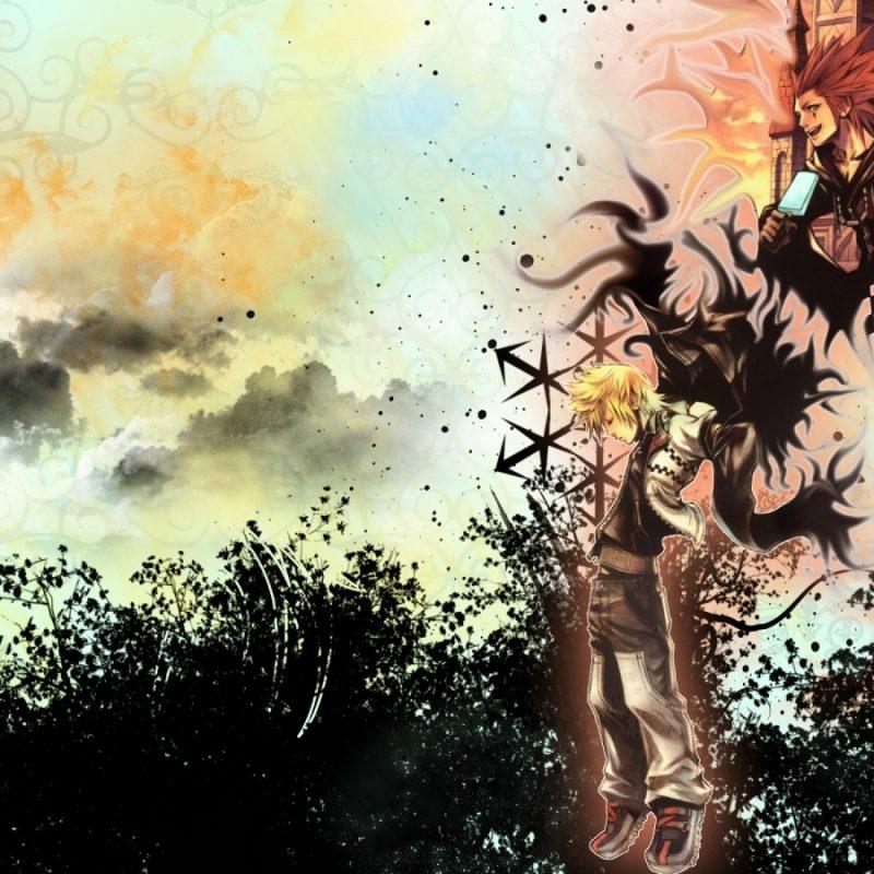 10 Most Popular Kingdom Hearts Wallpaper Roxas FULL HD 1080p For PC Background 2018 free download kingdom hearts 358 2 days wallpaper 277284 zerochan anime image board 800x800
