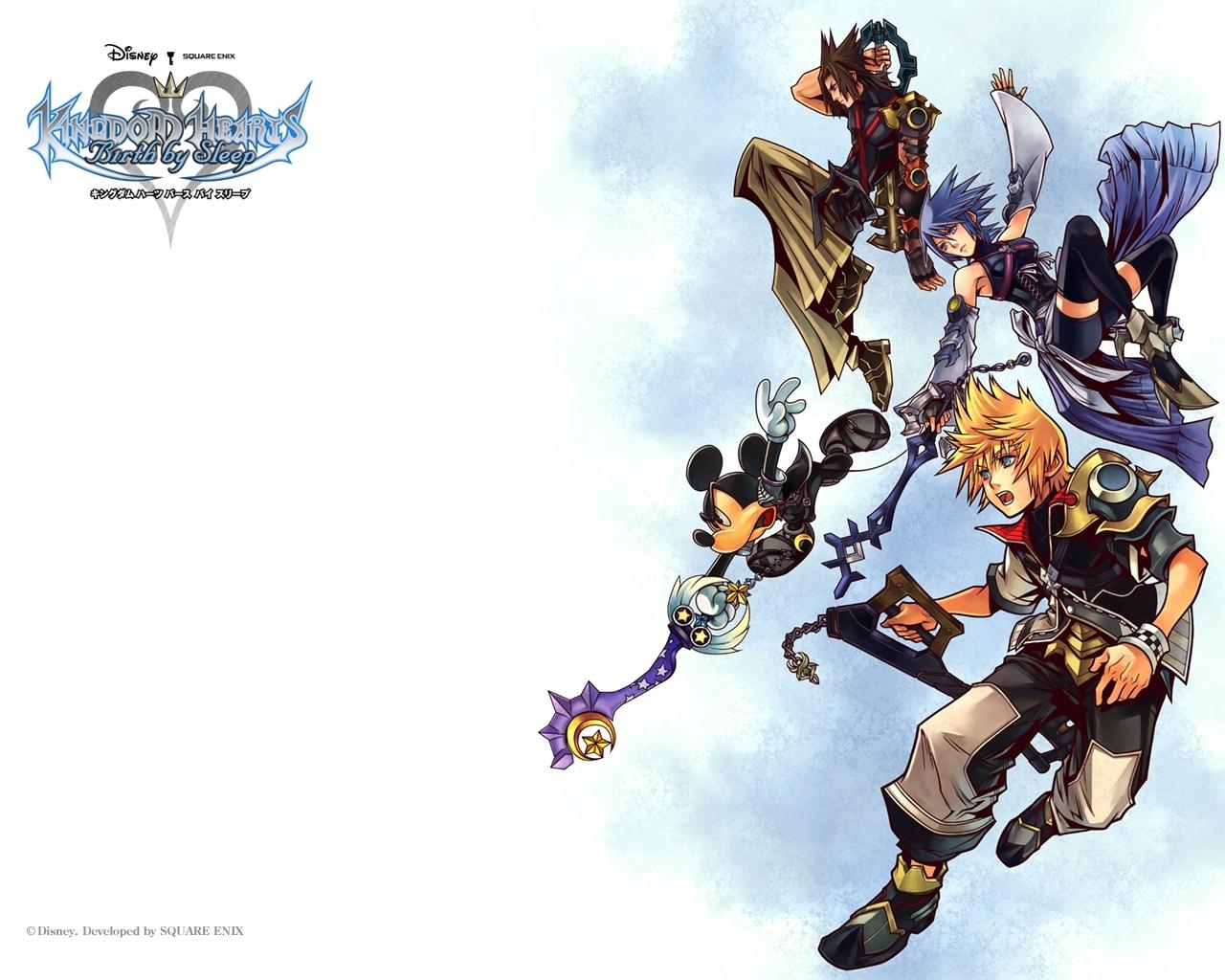 kingdom hearts: birthsleep, wallpaper - zerochan anime image board