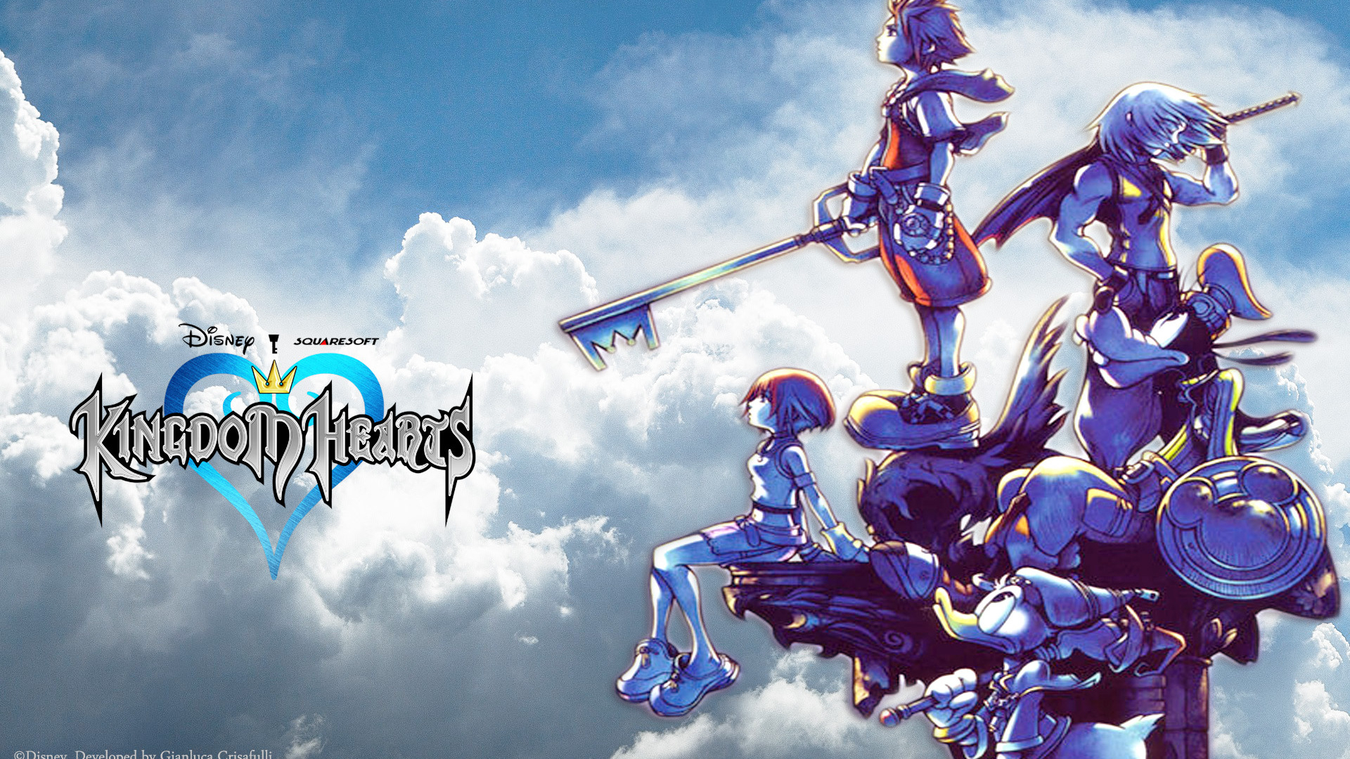 kingdom hearts desktop wallpaper - sf wallpaper