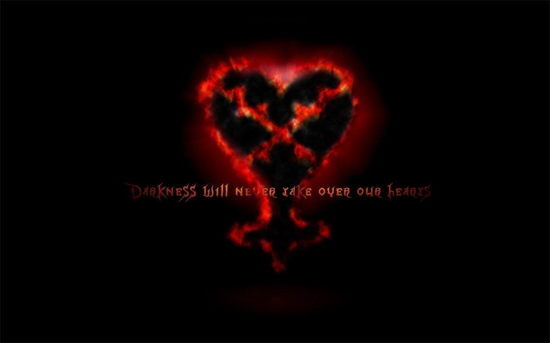 kingdom hearts heartless wallpaperwingedwarrior7 on deviantart