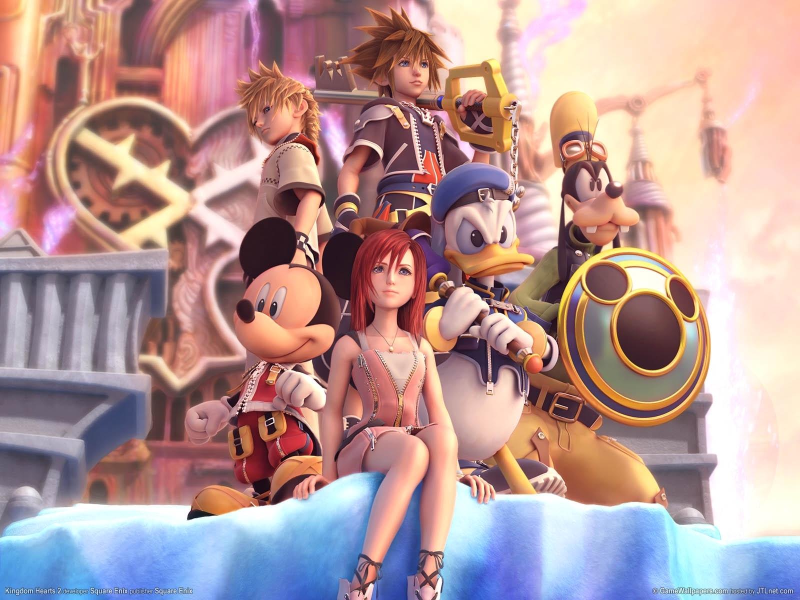 kingdom hearts ii wallpaper #64825 - zerochan anime image board