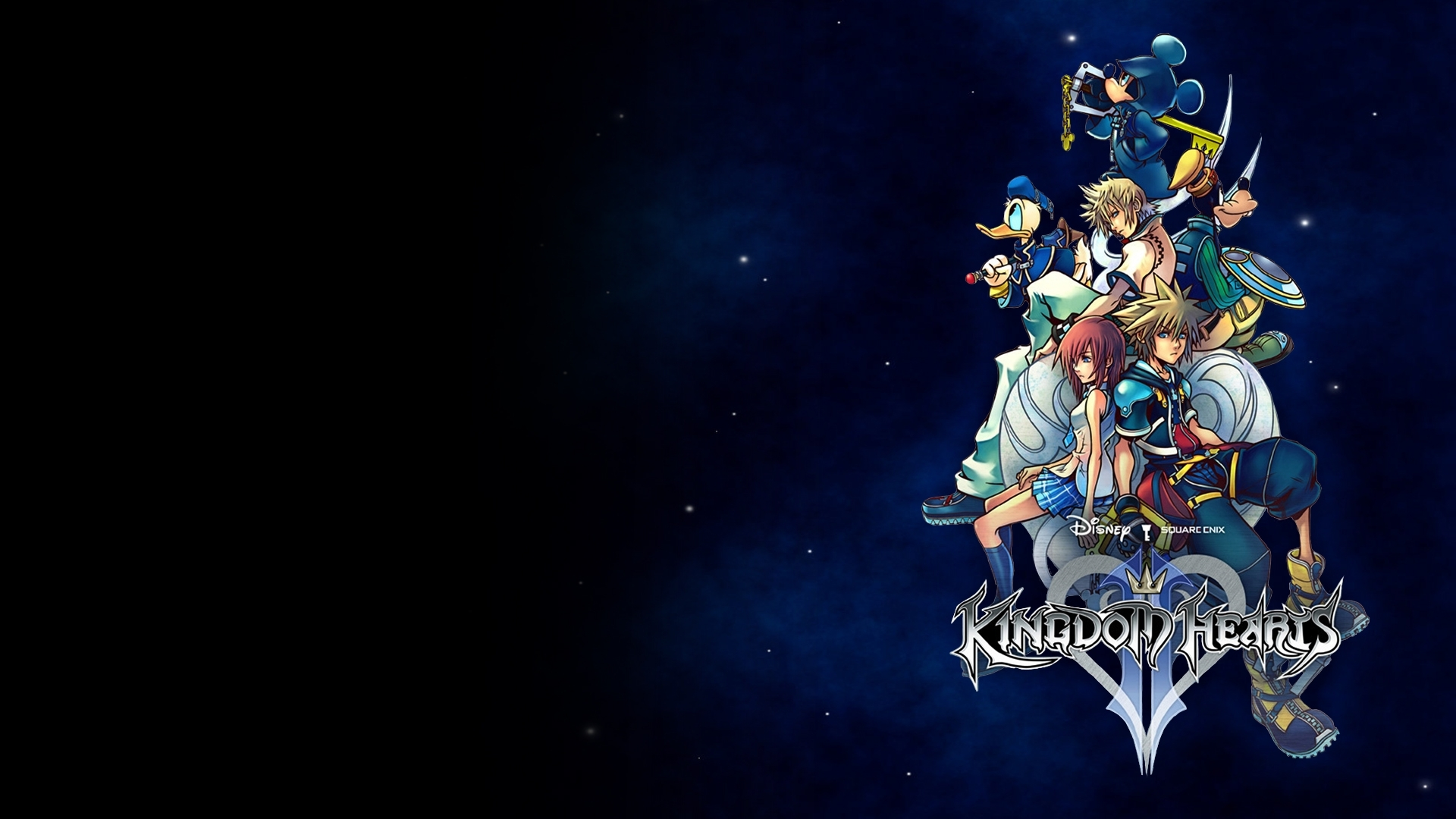 kingdom hearts ii wallpaper full hd wallpaper and background image