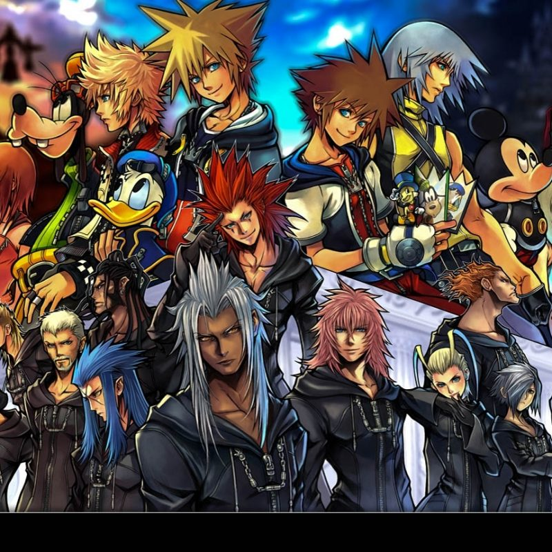 10 New Kingdom Hearts Computer Backgrounds FULL HD 1080p For PC Desktop 2018 free download kingdom hearts video game new wallpapers backgrounds high quality 800x800