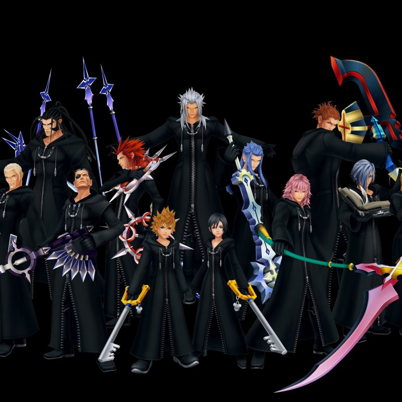 10 Top Kingdom Hearts Organization 13 Wallpaper FULL HD 1080p For PC Background 2018 free download kingdom hearts wallpaper 917647 zerochan anime image board 800x800