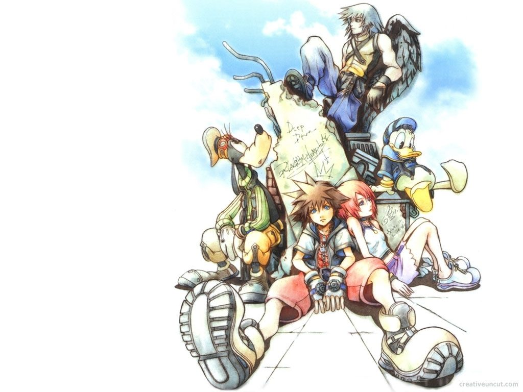 10 New Kingdom Hearts 1 Wallpaper FULL HD 1920×1080 For PC Background 2018 free download kingdom hearts wallpaper and background image 1024x768 id35295 1024x768