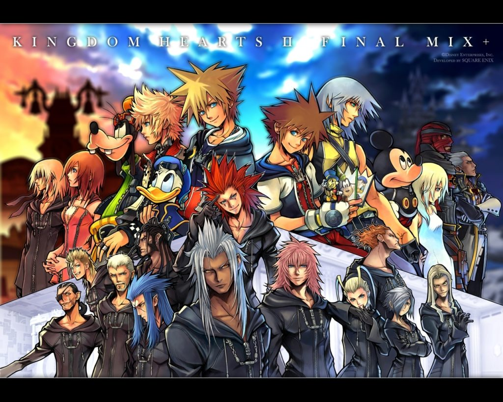 10 Top Kingdom Hearts 2 Wallpaper FULL HD 1920×1080 For PC Background 2018 free download kingdom hearts wallpaper and background image 1280x1024 id139 1024x819