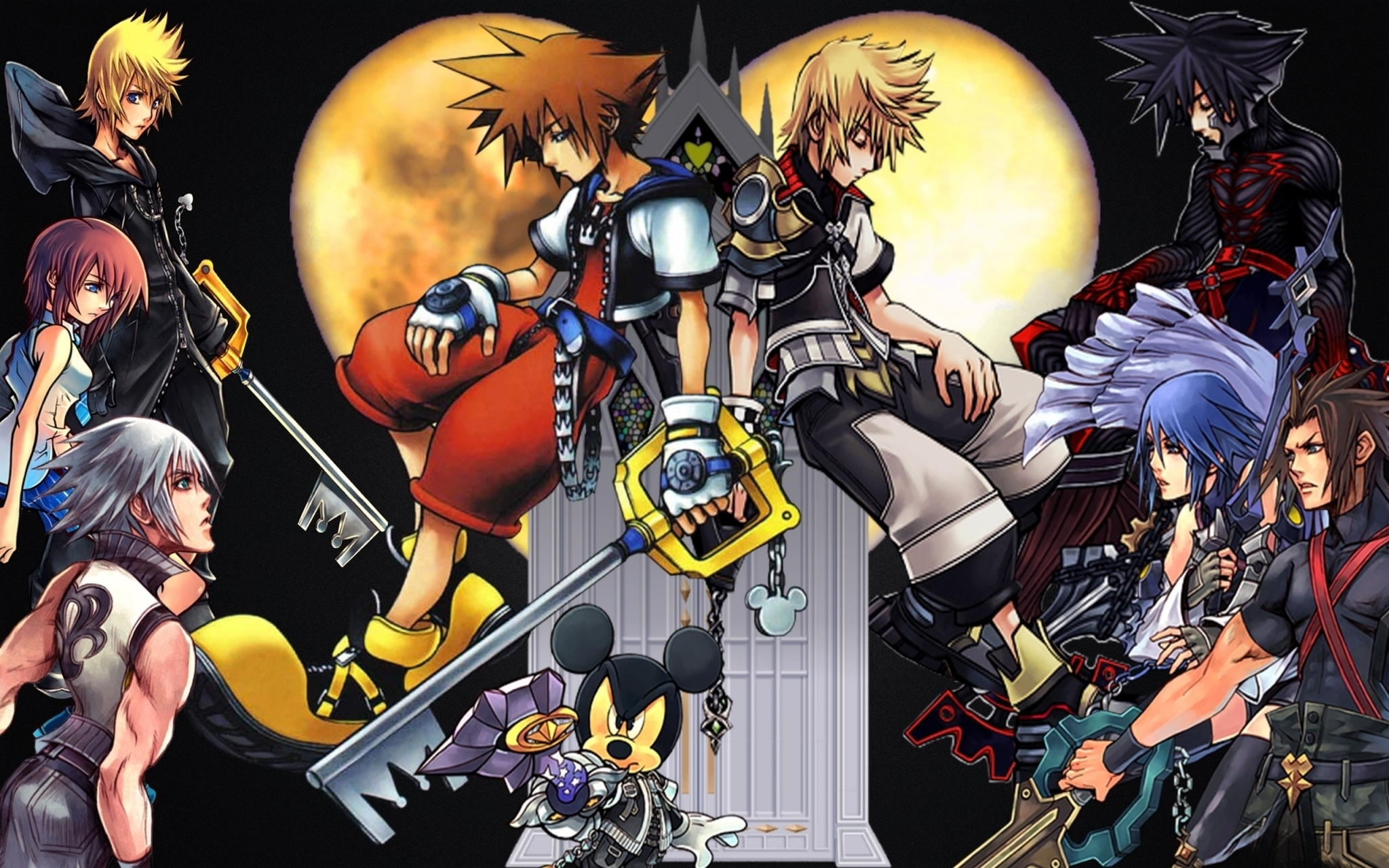 kingdom hearts wallpaper desktop backgrounds - media file