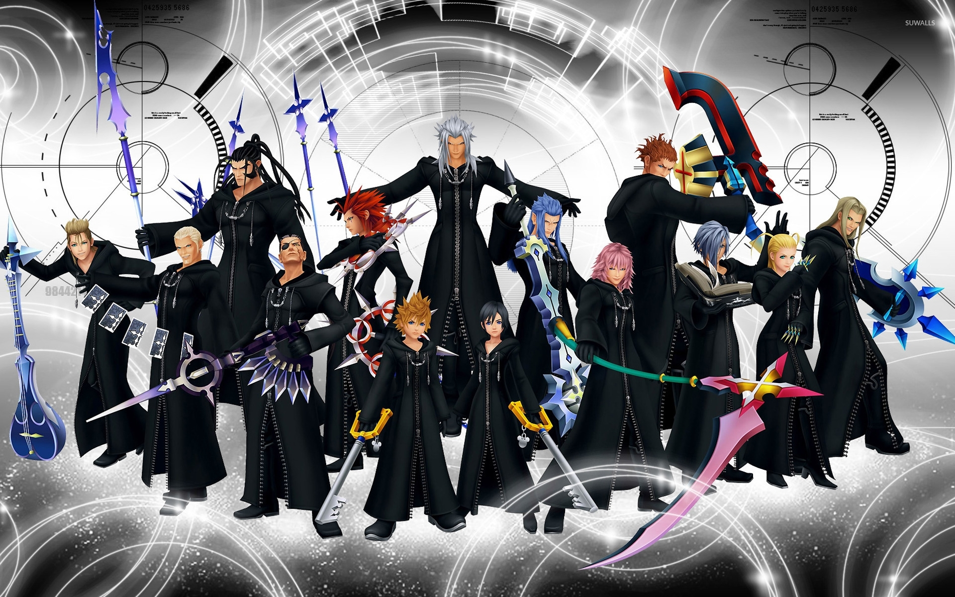 kingdom hearts wallpaper - game wallpapers - #14761