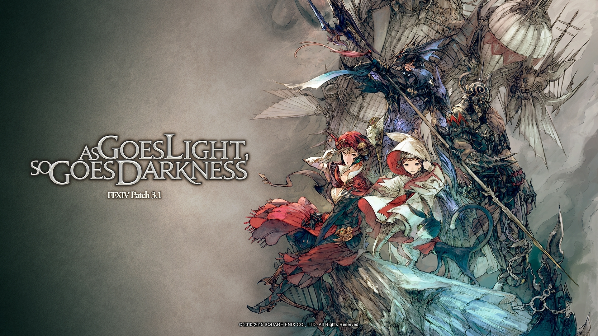 10 Top Final Fantasy Xiv Backgrounds FULL HD 1920×1080 For PC Background