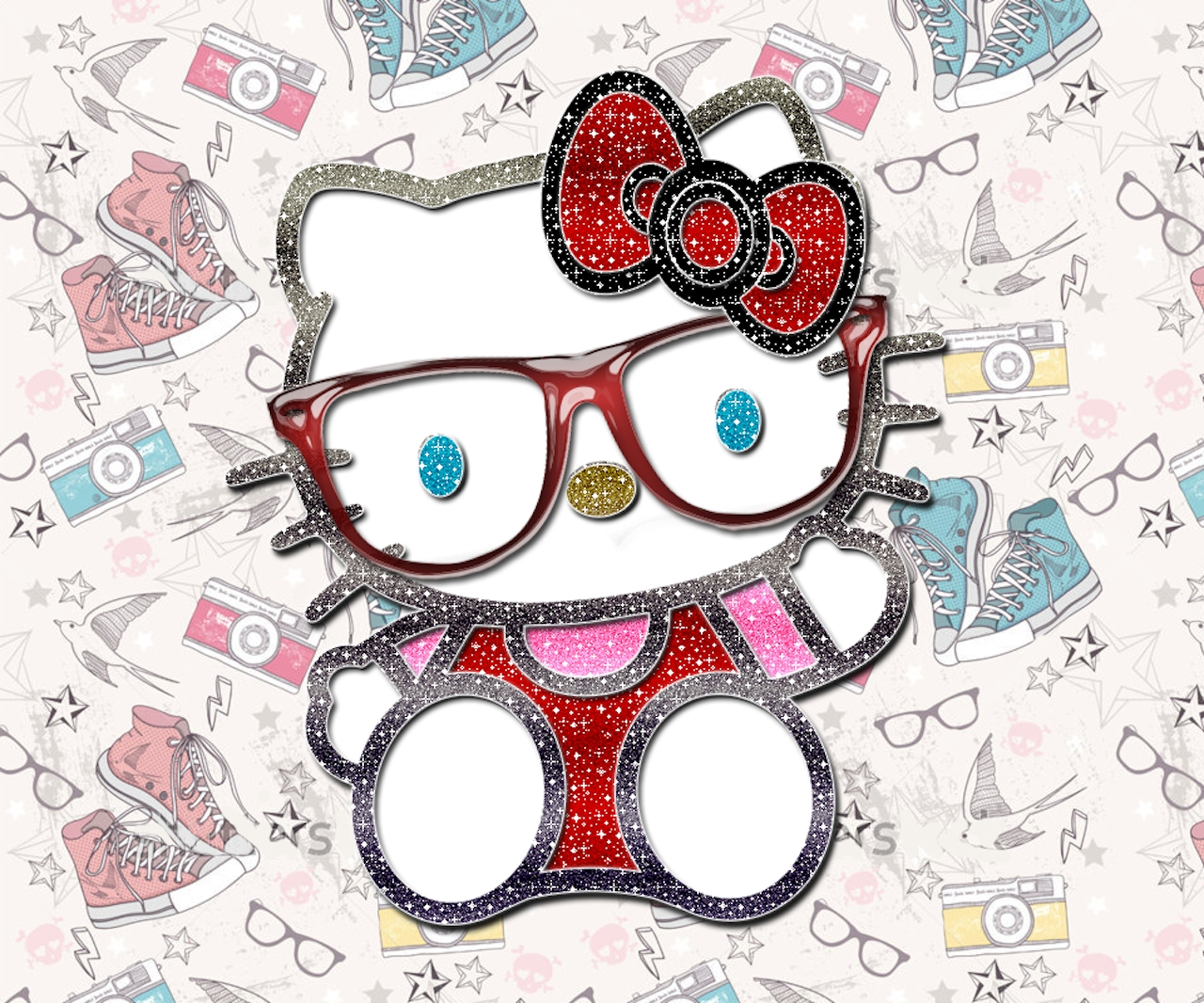 kitty nerd | hello kitty | pinterest | kitty, hello kitty and sanrio