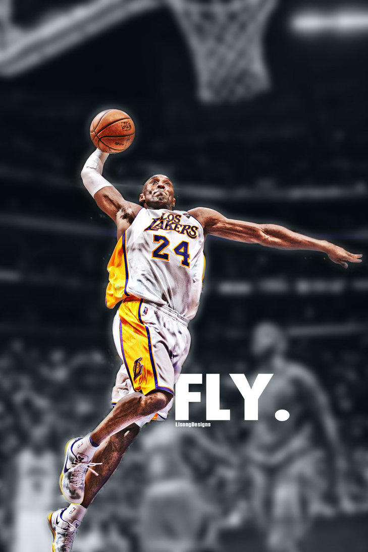 kobe bryant dunk wallpaper - wallpapersafari