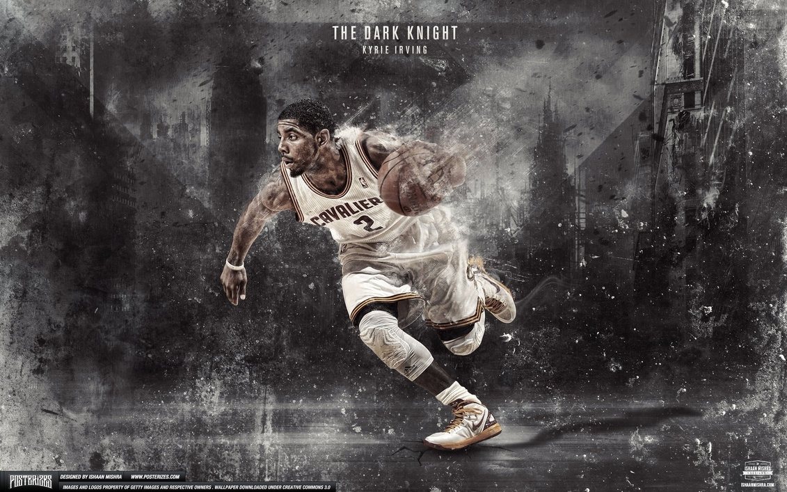 kyrie irving dark knight wallpaperishaanmishra on deviantart