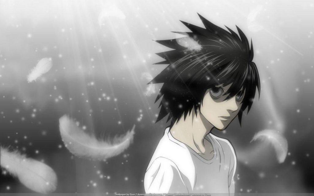 10 Latest Death Note L Wallpaper FULL HD 1080p For PC Background 2018 free download l wallpapers death note wallpaper cave 1024x640