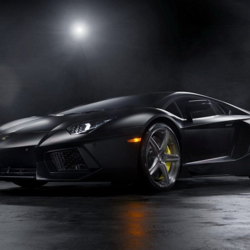 10 Best Lamborghini Aventador Matte Black Wallpaper Full Hd 1920