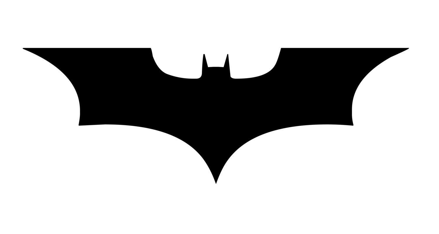 large dark knight batman logo wall decor/sticker free shipping