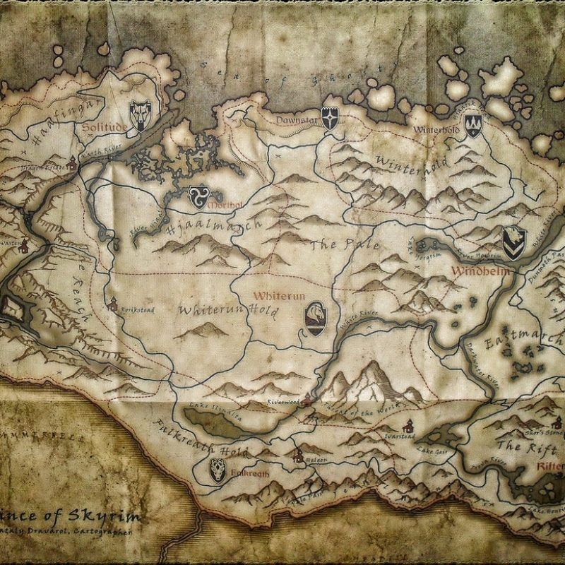 10 Most Popular Map Of Skyrim Wallpaper FULL HD 1080p For PC Background 2018 free download large skyrim mapsolace grace on deviantart 800x800