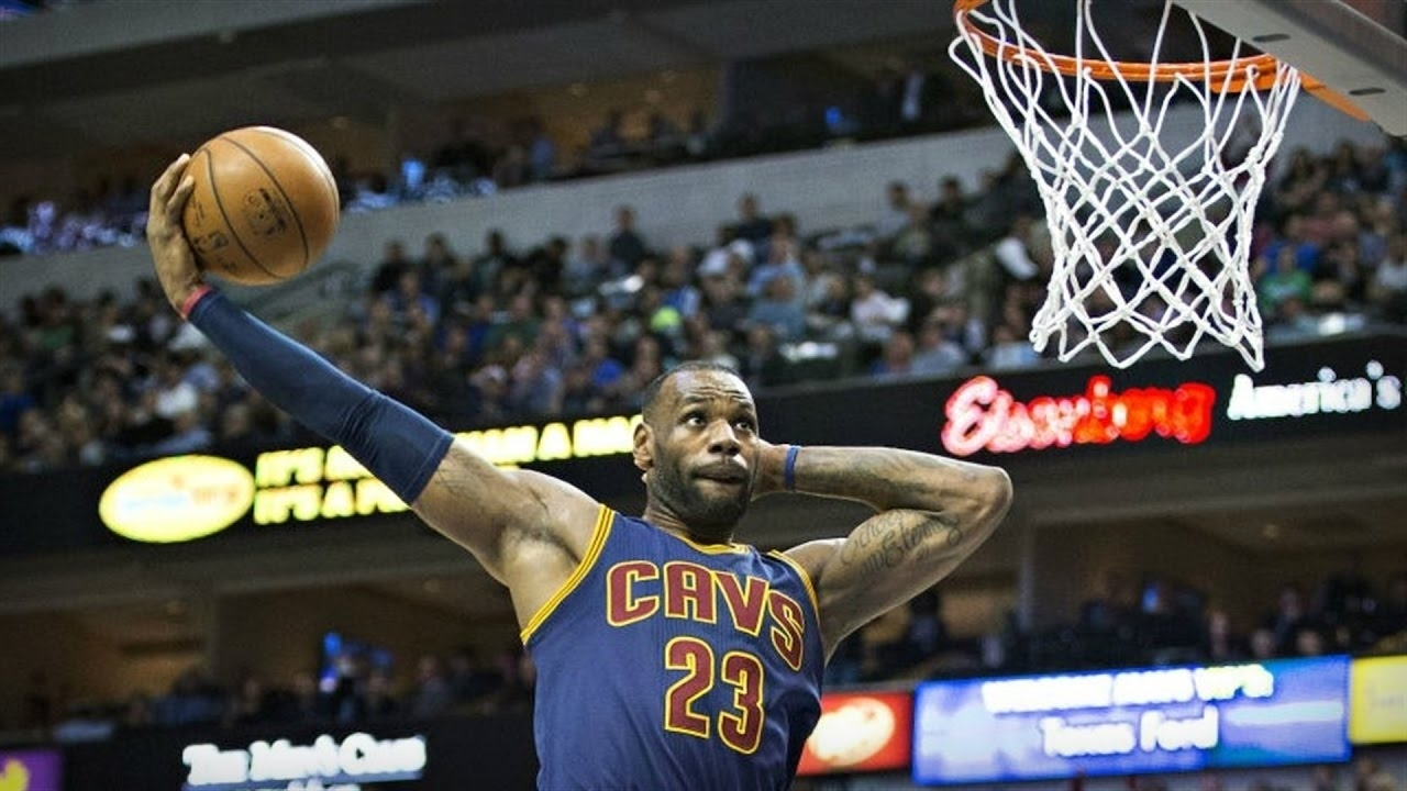 10 Latest Lebron James Dunking Pictures FULL HD 1920×1080 For PC Desktop
