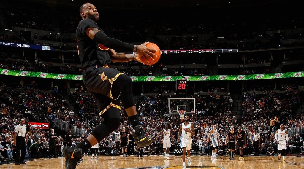 10 Latest Lebron James Dunks Images FULL HD 1080p For PC Background 2018 free download lebron james child asks cavs star to dunk on lonzo ball si 1024x570