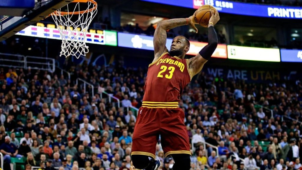 10 Latest Lebron James Dunks Images FULL HD 1080p For PC Background 2018 free download lebron james dunk renaissance 1024x576
