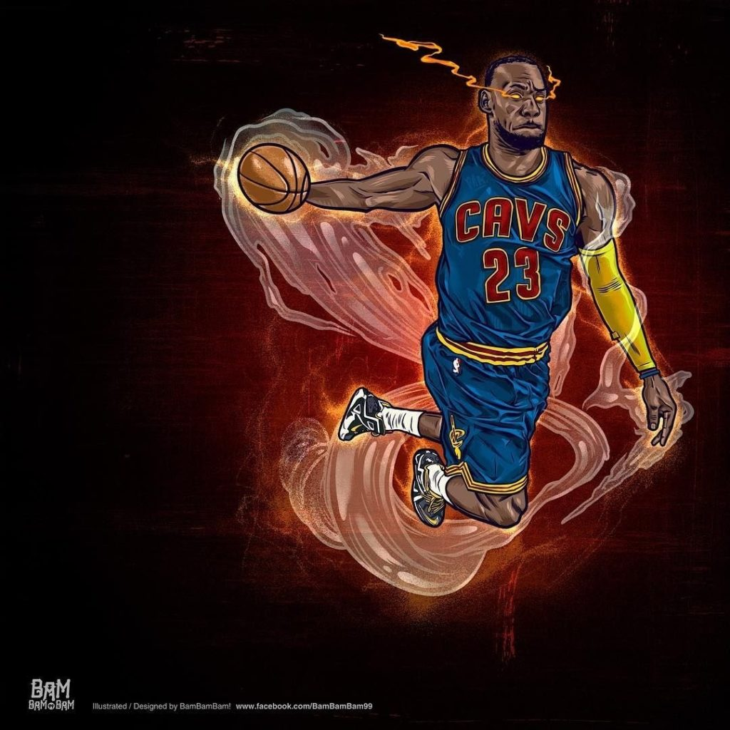 10 Top Lebron James Animated Wallpaper FULL HD 1080p For PC Desktop 2018 free download lebron james heat seeking vision illustration basketball drawings 1024x1024