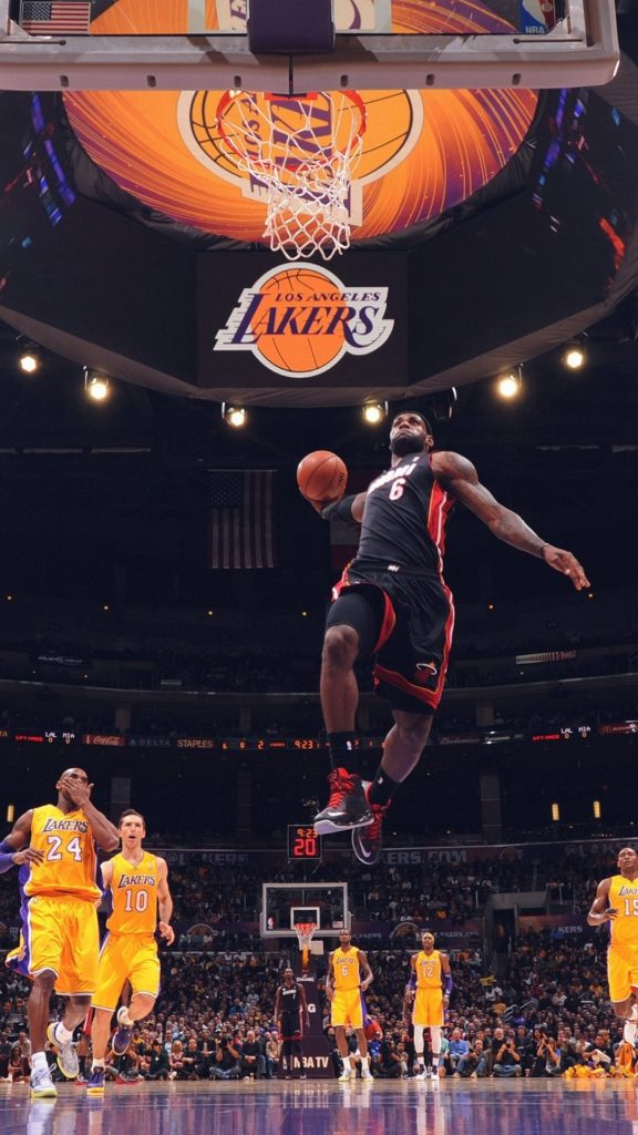 10 Most Popular Lebron James Dunk Wallpapers FULL HD 1080p For PC Background 2020 free download lebron james nba basketball dunk iphone 6 wallpaper wallpapers 576x1024
