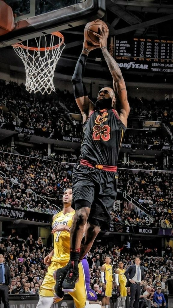 10 Most Popular Lebron James Dunk Wallpapers FULL HD 1080p For PC Background 2020 free download lebron james wallpaper basketball pinterest lebron james 576x1024
