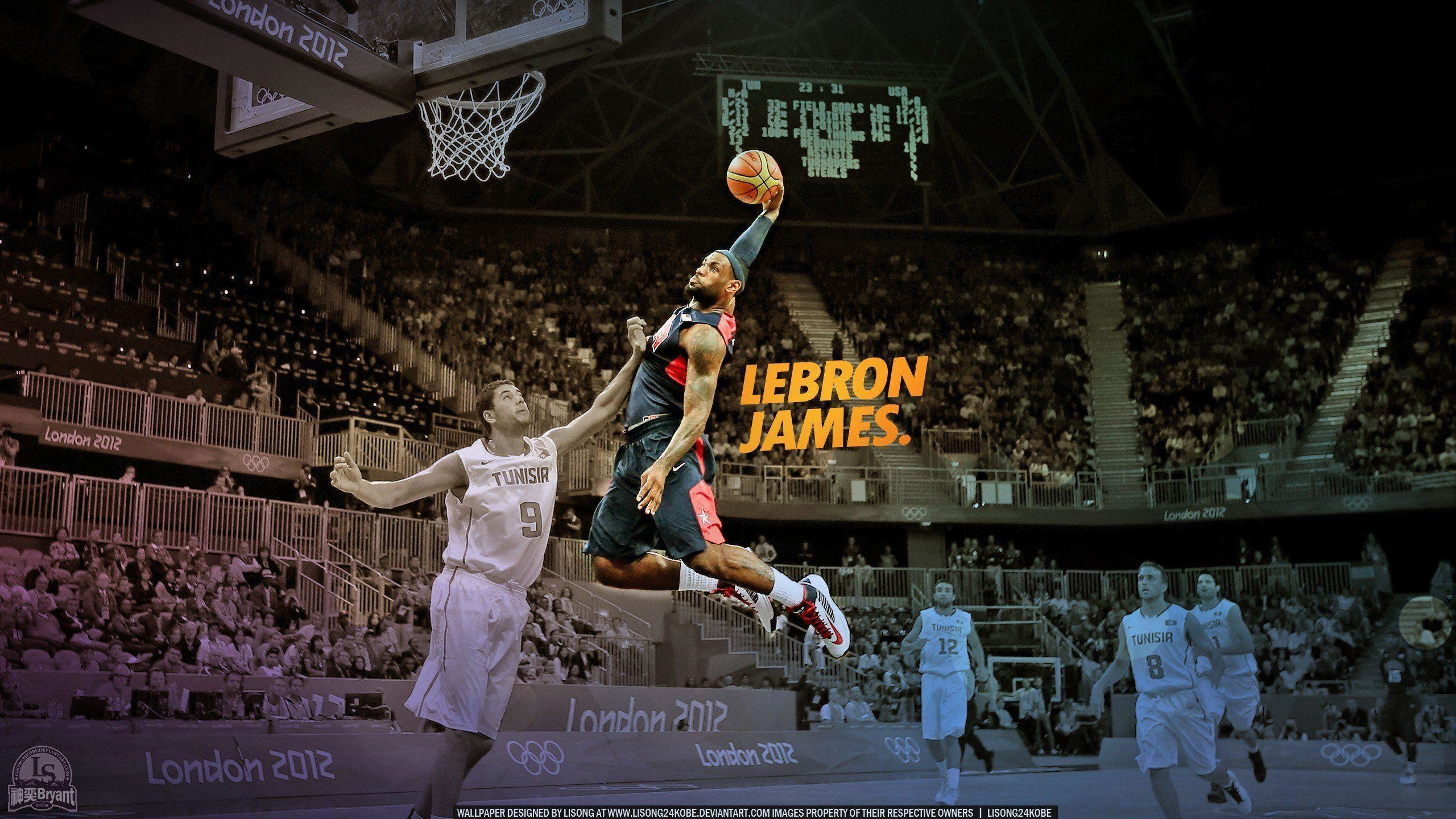 lebron james wallpaper dunk (the best 68+ images in 2018)