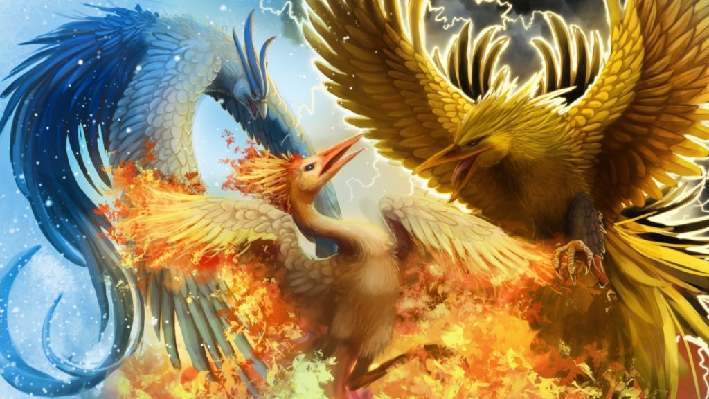 10 New Articuno Zapdos Moltres Wallpaper FULL HD 1920×1080 For PC Background 2018 free download legendary birds articuno zapdos and moltres full hd wallpaper 1024x576