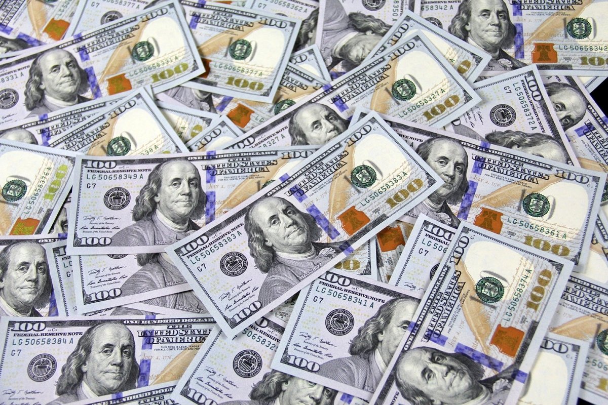license free money images $100 bills, one hundred dollar bills