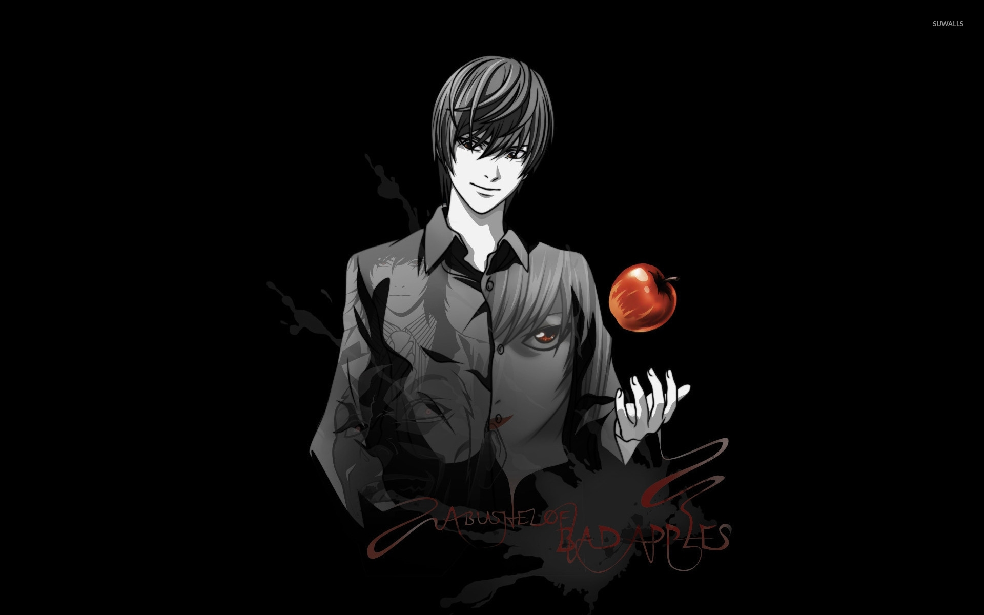 light - death note wallpaper - anime wallpapers - #14120