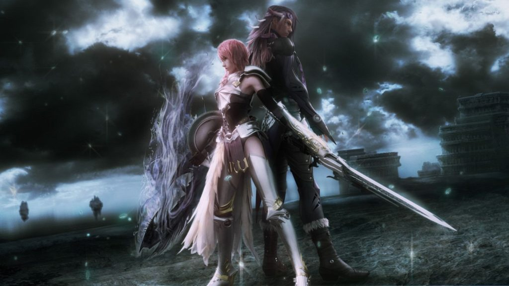 10 Best Final Fantasy Xiii 2 Wallpaper FULL HD 1080p For PC Desktop 2018 free download lightning and caius final fantasy xiii 2 wallpaper game 1024x576