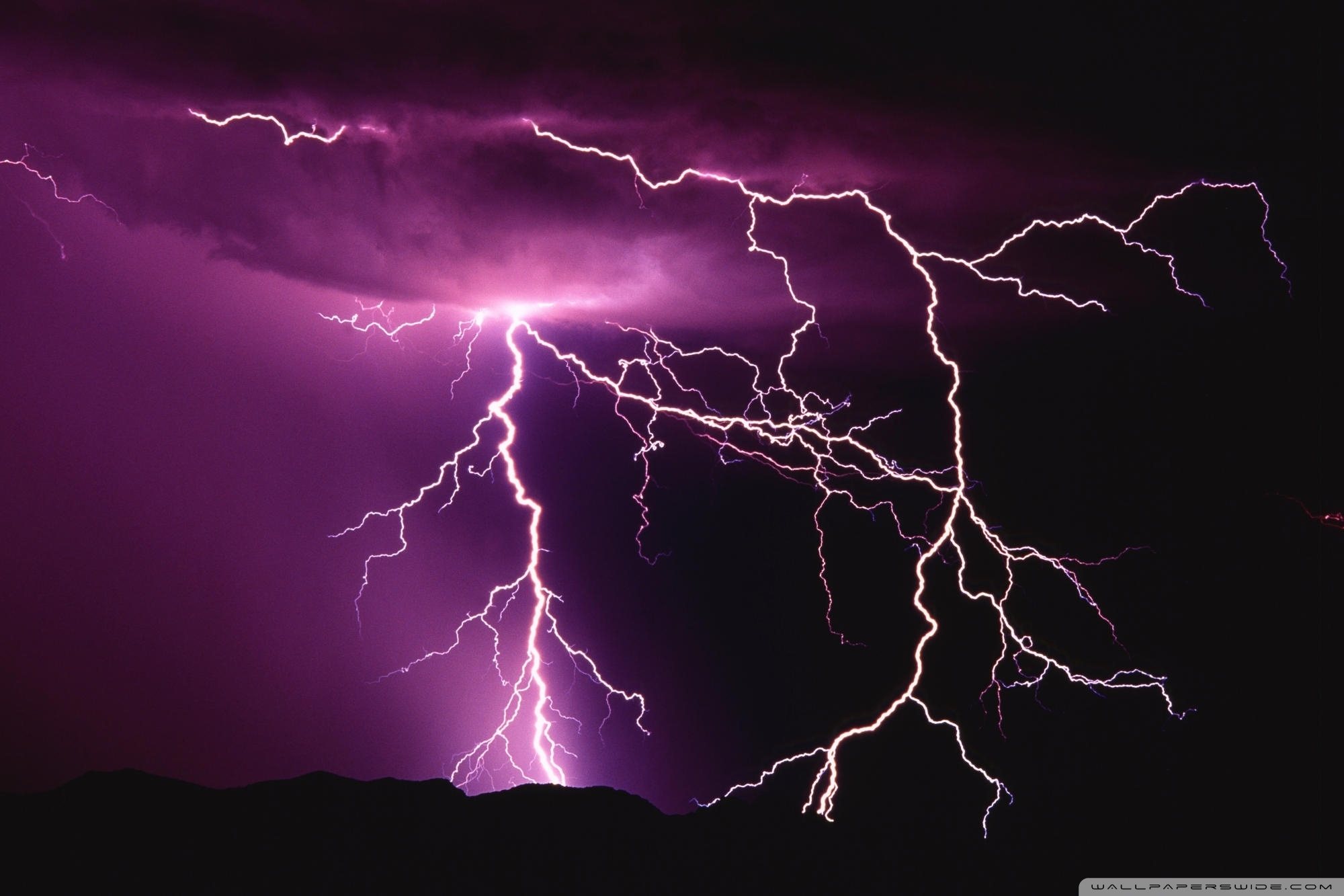 lightning storm ❤ 4k hd desktop wallpaper for 4k ultra hd tv