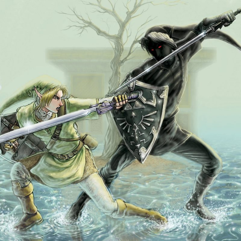 10 Most Popular Link Vs Dark Link Wallpaper FULL HD 1920×1080 For PC Desktop 2018 free download link vs dark link the legend of zelda iangoudelock link the 800x800