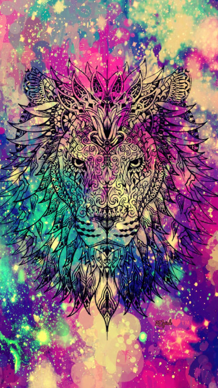 10 Latest Galaxy Lion Wallpaper FULL HD 1920×1080 For PC Background 2018 free download lion galaxy wallpaper androidwallpaper iphonewallpaper wallpaper 450x800