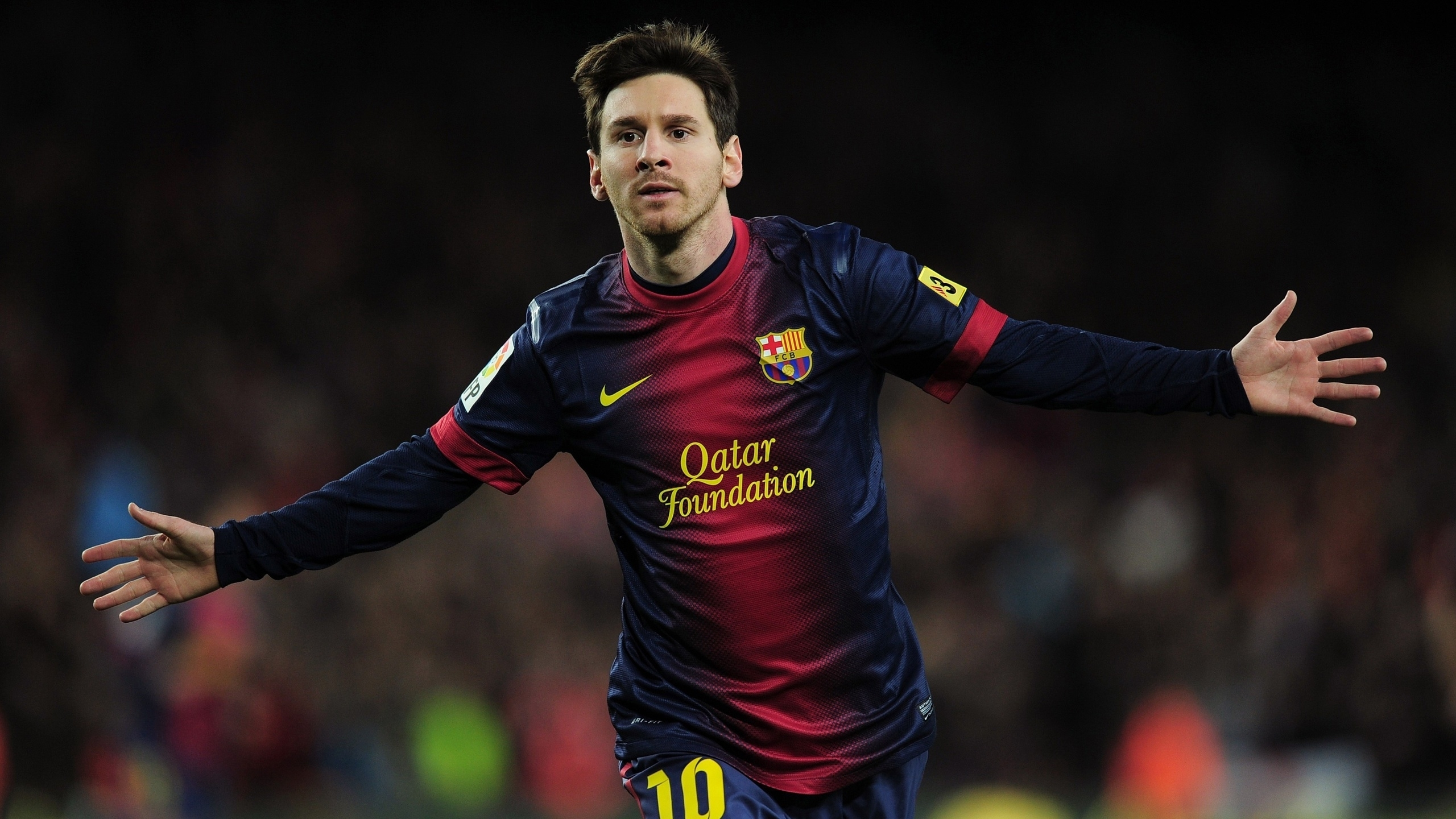 lionel messi full hd wallpaper and background image | 2560x1440 | id