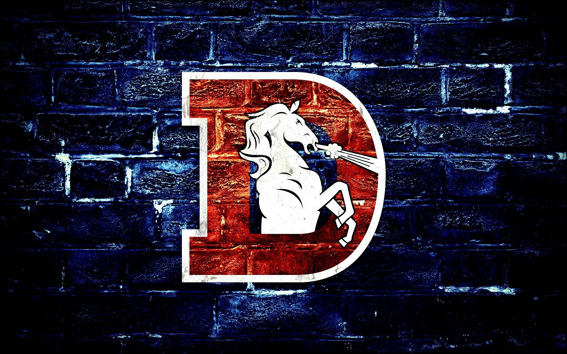logo denver broncos wallpaper. - media file   pixelstalk