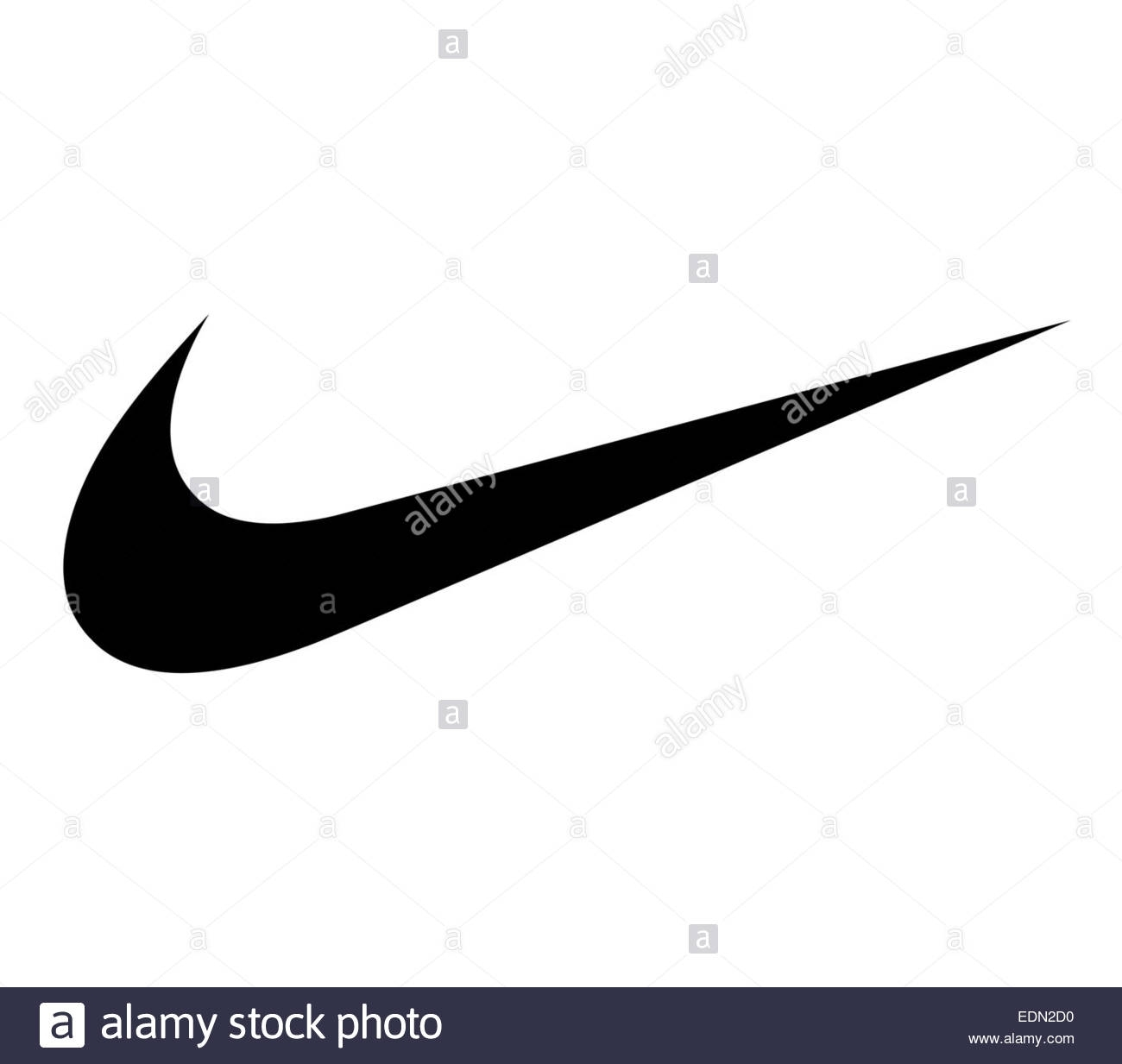 logo nike signe icône banque d'images, photo stock: 77294924 - alamy