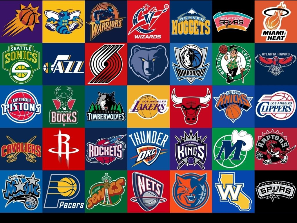 10 New Nba All Team Logos FULL HD 1920×1080 For PC Background 2018 free download logos equipos de la nba basketball pinterest nba and athlete 1024x768