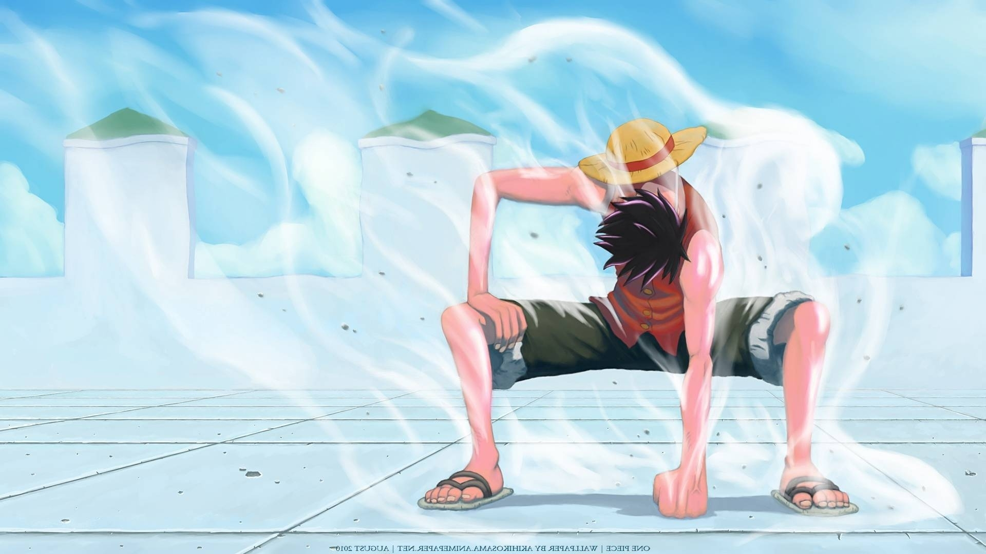 luffy gear second enies lobby hd - one piece wallpaper | free