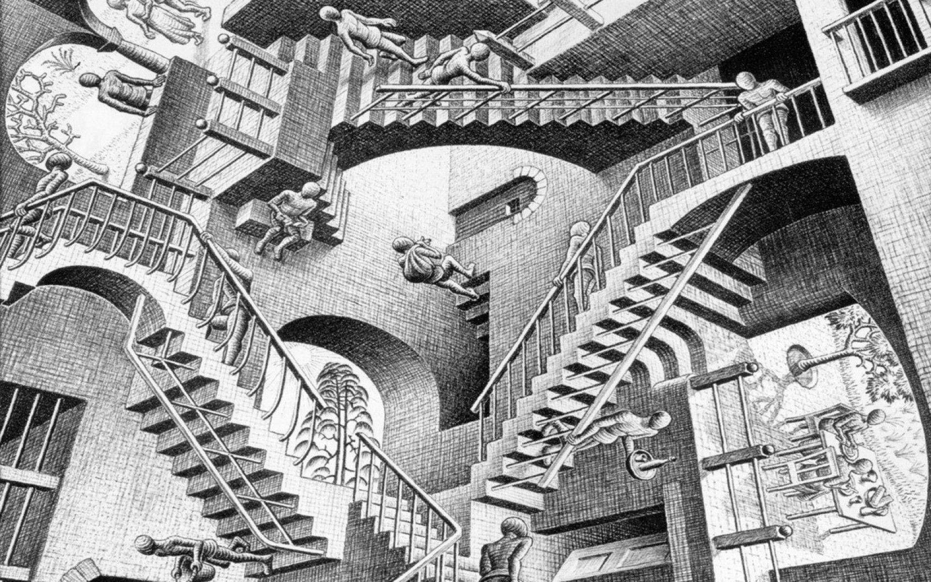 10 Best Mc Escher Wall Paper FULL HD 1920×1080 For PC Background