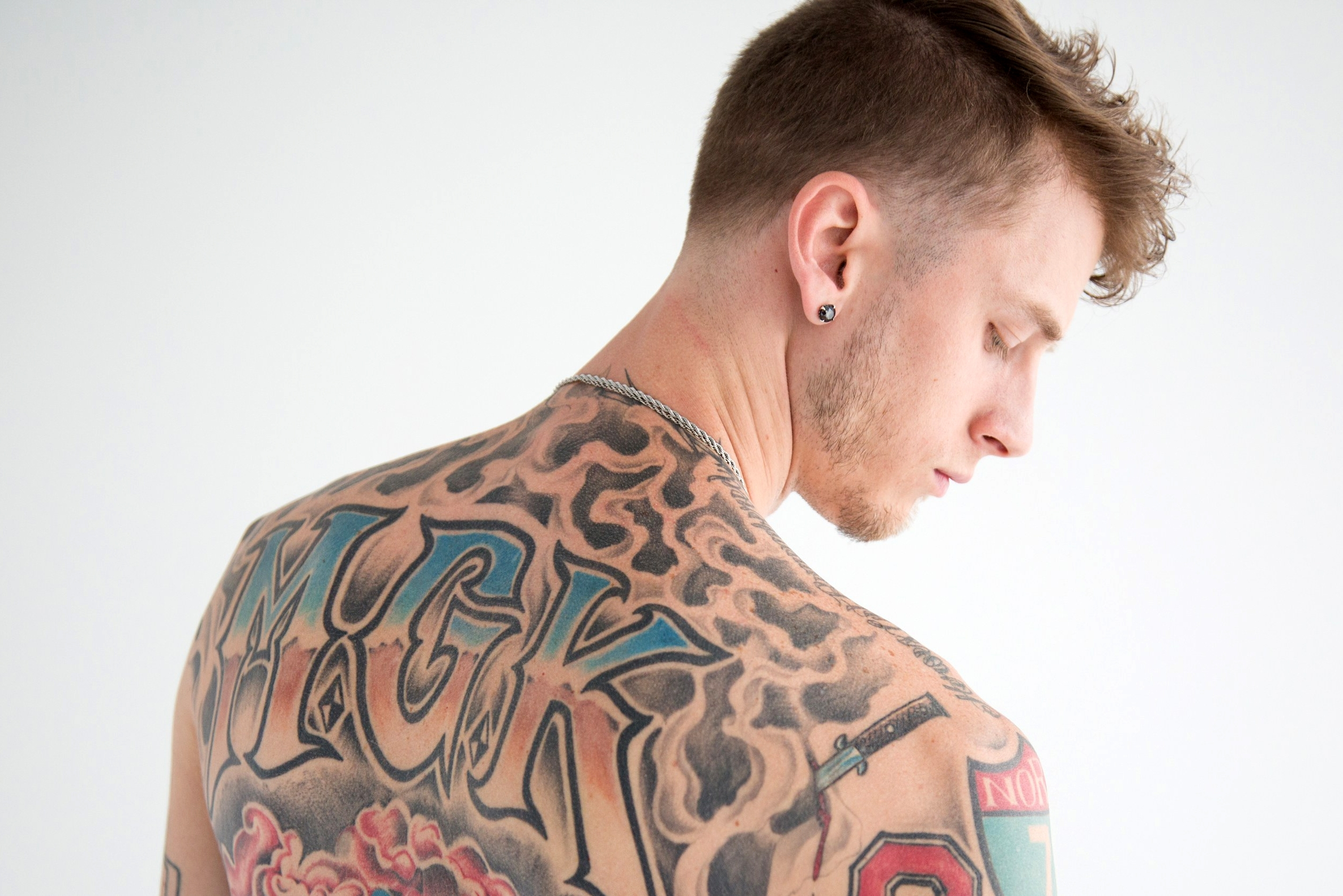 machine gun kelly is not quite 'at his best' and more in singles