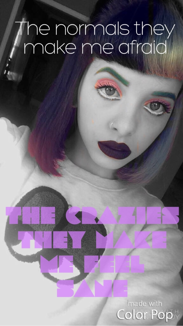 mad hatter// melanie martinez my edit//iphone wallpaper | melanie