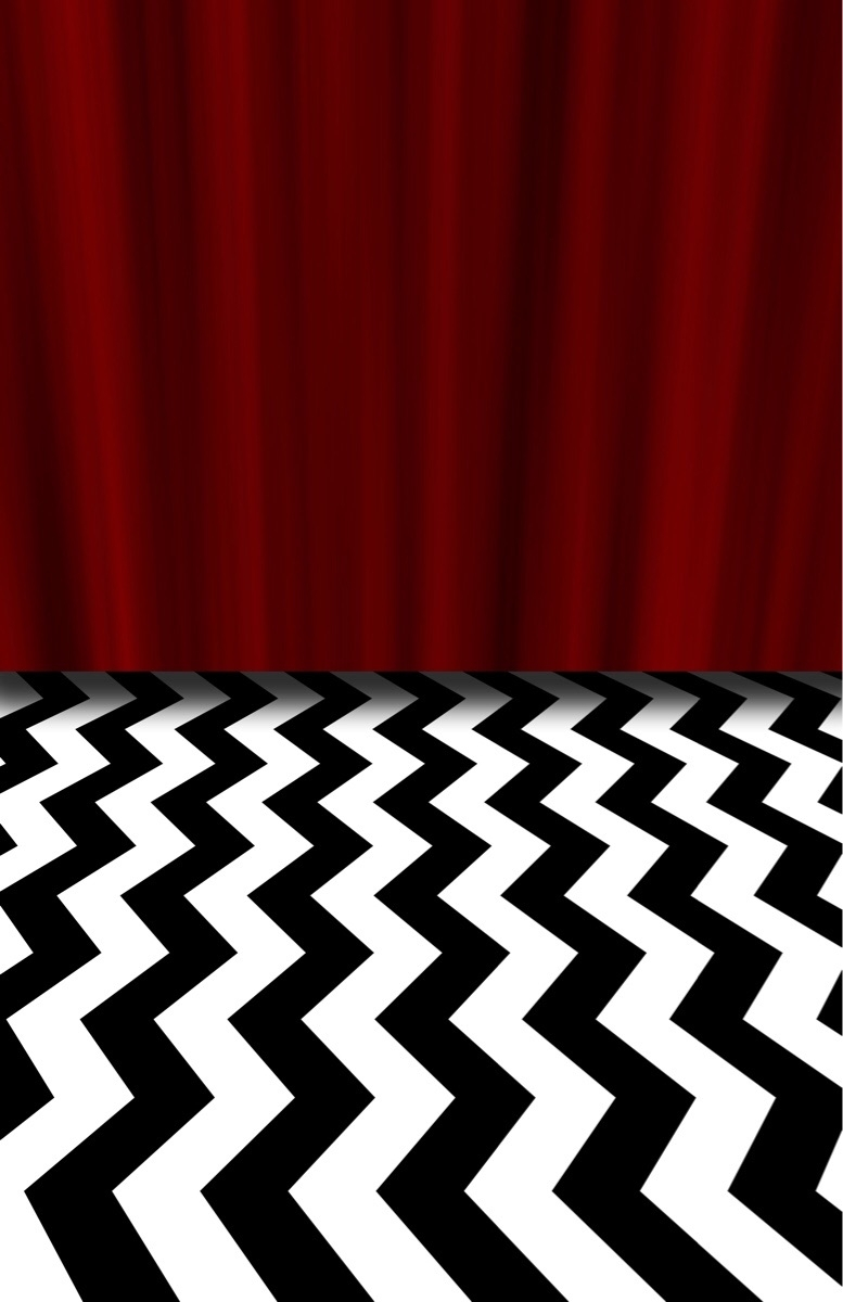 made a new background for my phone this morning : twinpeaks