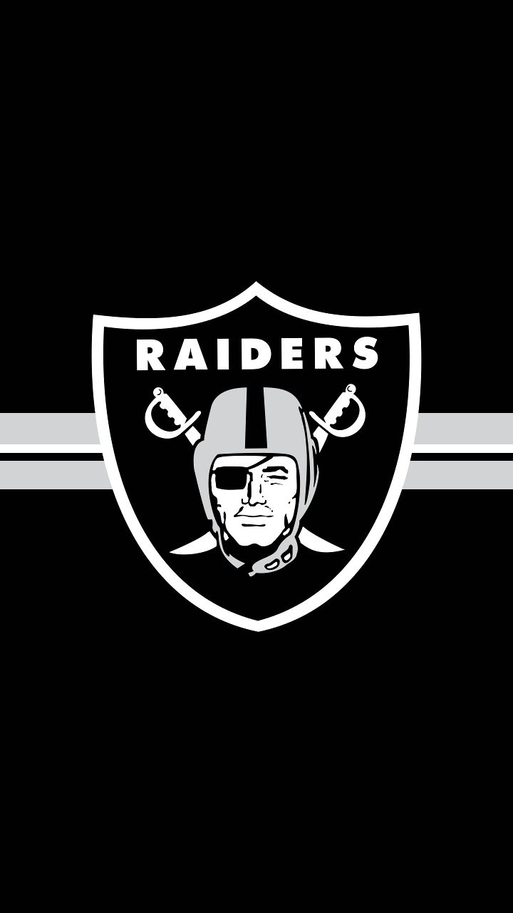 made an oakland raiders mobile wallpaper, tell me what you think