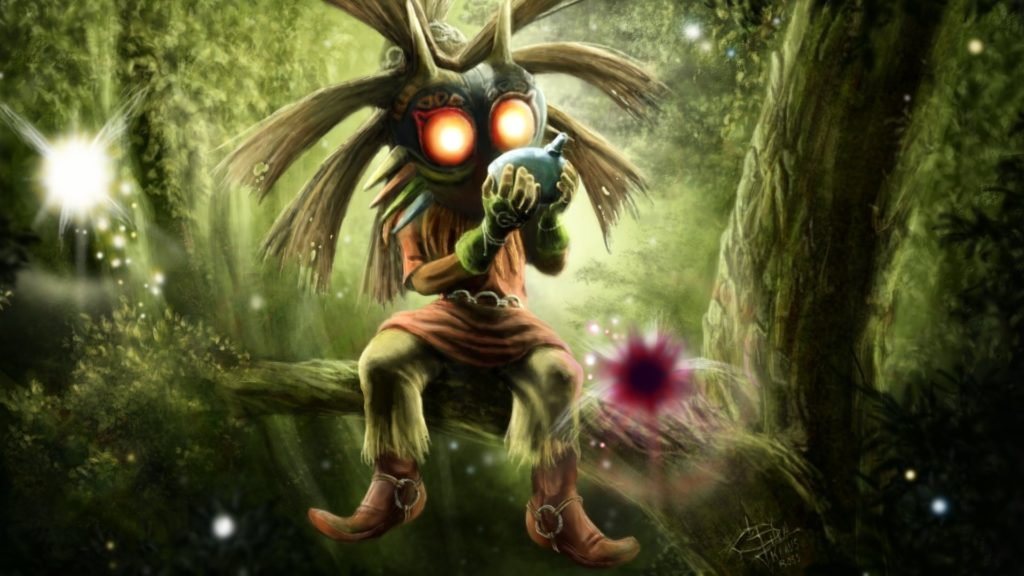 10 Best Majora's Mask Skull Kid Wallpaper FULL HD 1080p For PC Background 2020 free download majoras mask skull kid walldevil 1024x576