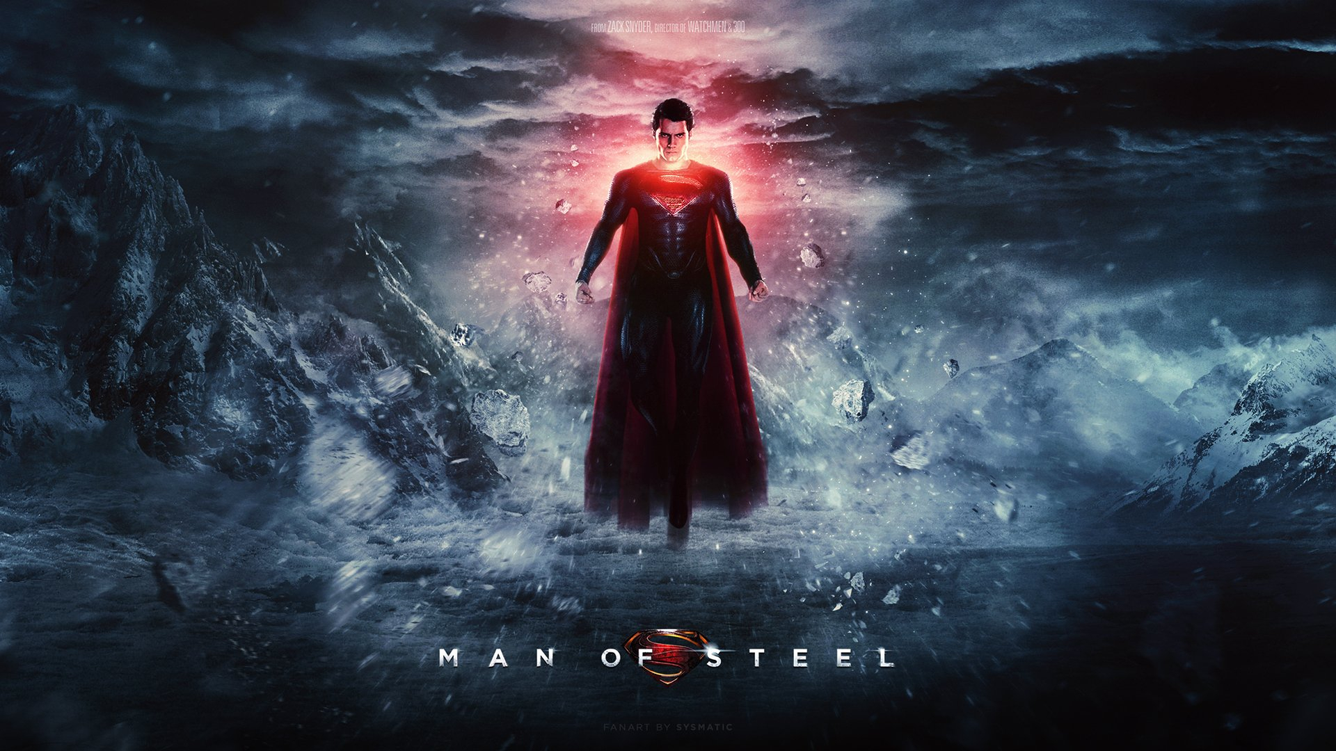 man of steel wallpaper superman movie 02 | digitalart.io