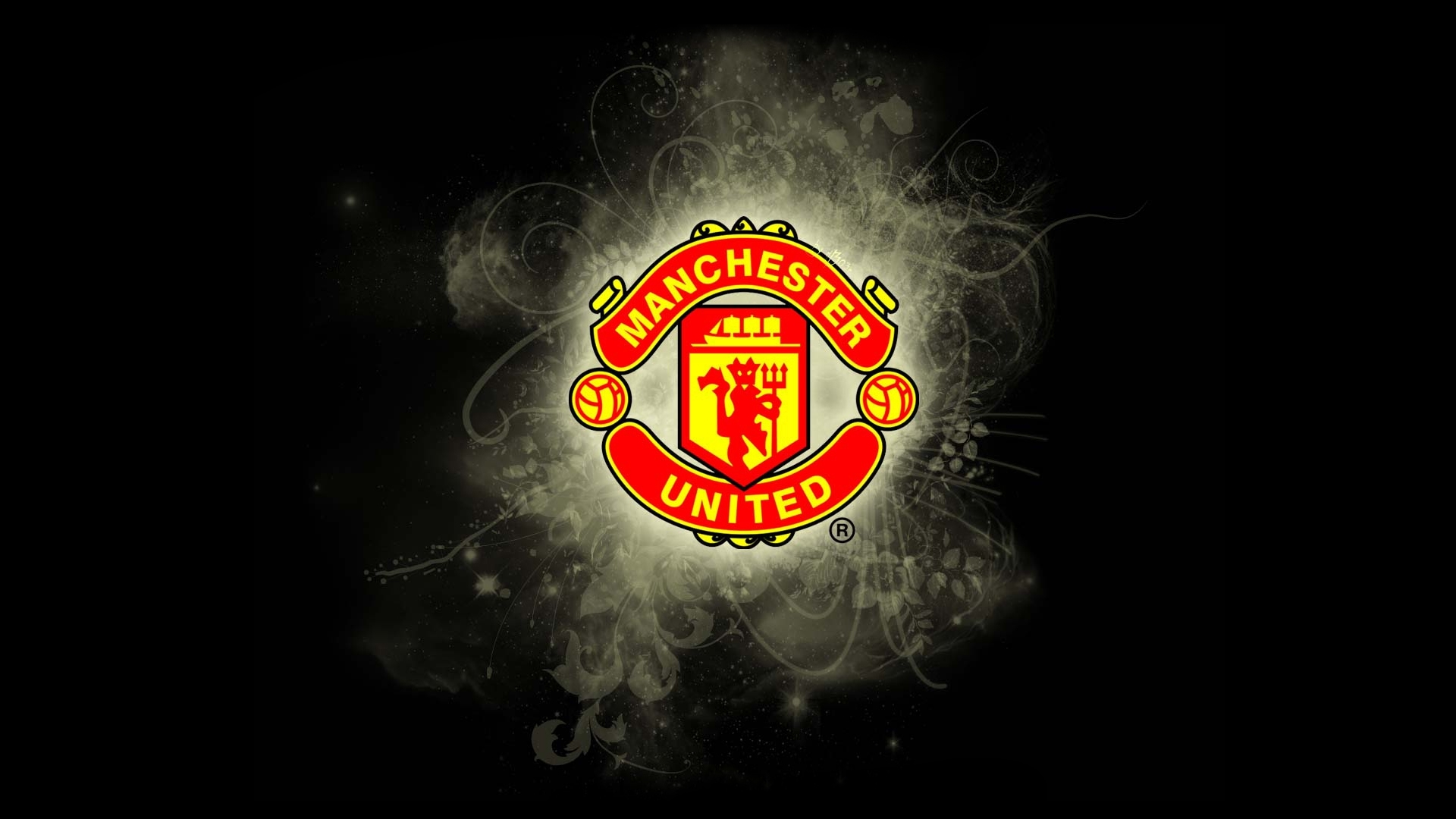 manchester united high def logo wallpapers - wallpaper.wiki