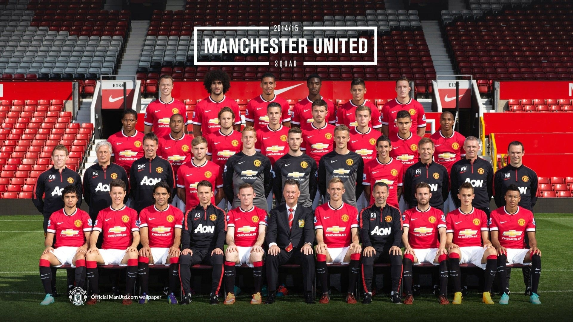 manchester united players 2014-2015 | wallpaper hd free download