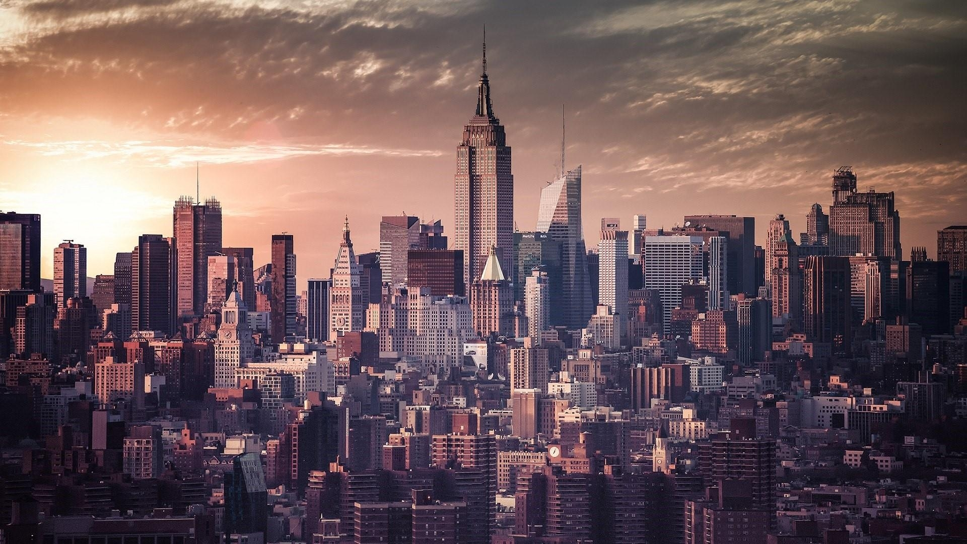 manhattan skyline (new york city) wallpaper | wallpaper studio 10