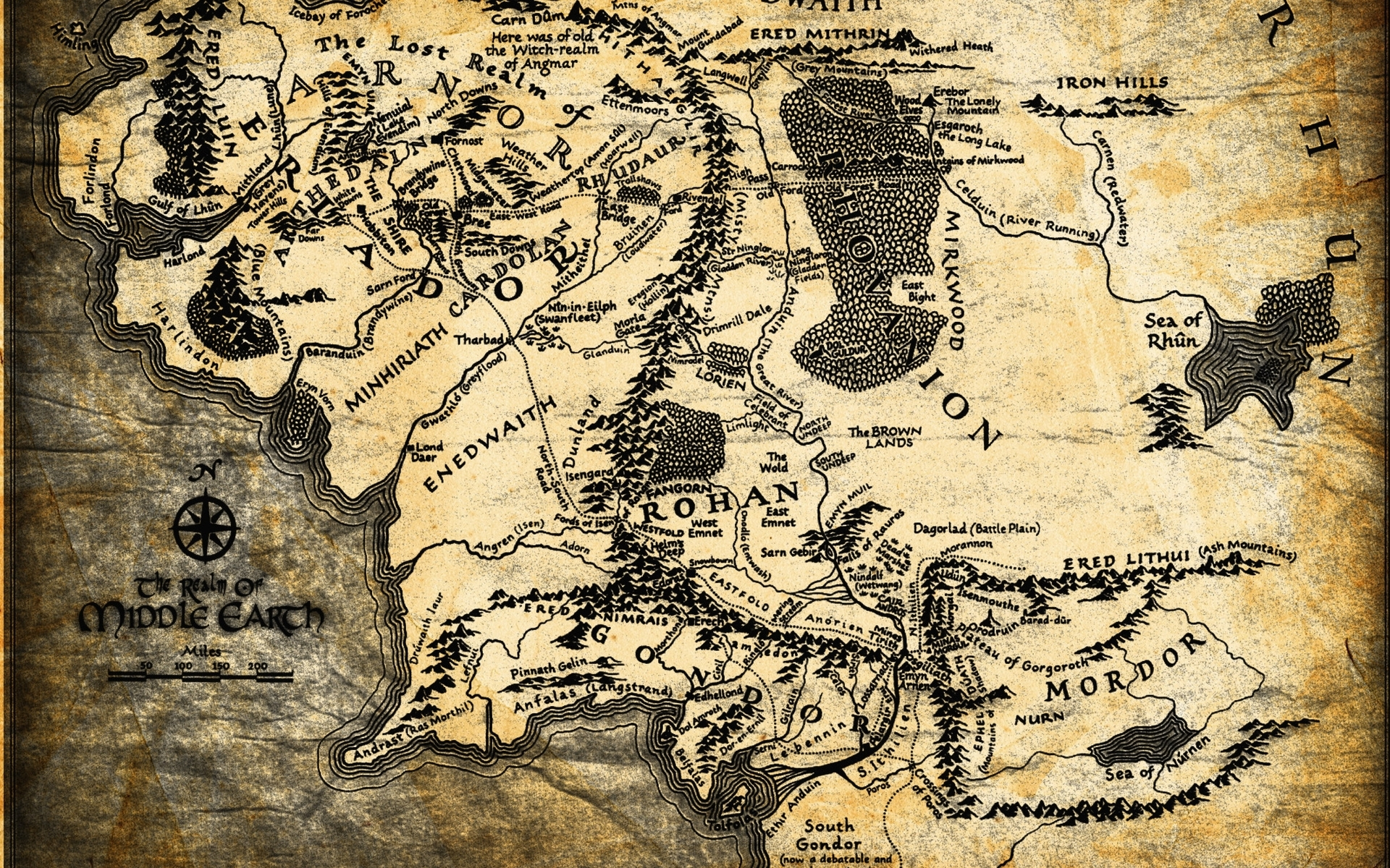map of middle earth wallpapers - wallpaper cave | adorable